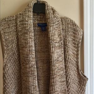 Tan sweater vest